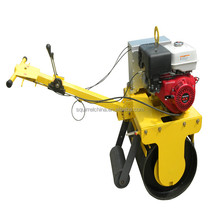 Hot Sale Handle Road Roller Compactor with honda gx390