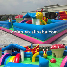 Kids indoor amusement inflatable kids playground