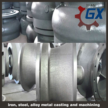 pricision steel casting foundry and casting