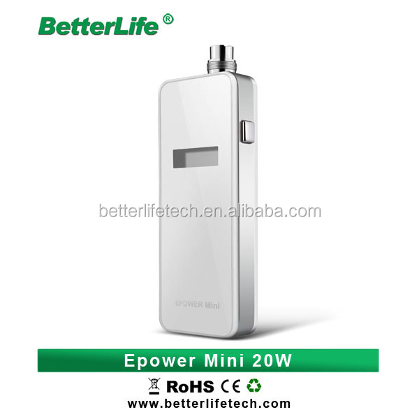 Bull vapor Betterlfie 2015 latest electronic devices 1700 times battery life Epower mini 20w dry herb vaporizer vape pen