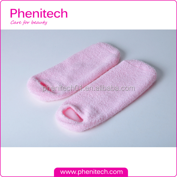 Deluxe Comfort Feather Yarn Gel SPA Moisturizing Socks for dry feet