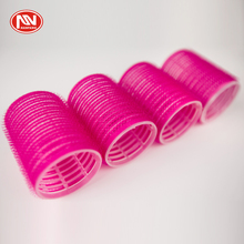 Repeated Usage DIY Wave Hairstyle Big Plastics Red Hair Rollers