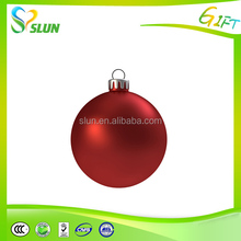 Hot selling wholesale glass christmas open ball ornaments