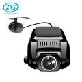2 Channel Car Camera Front And Back,Wifi 4K Dash Cam
