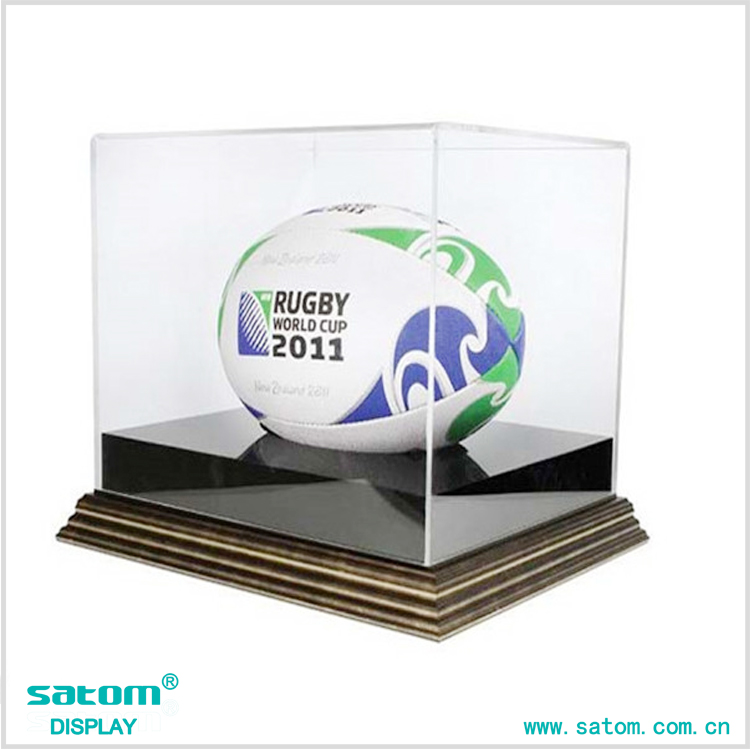 Customize Acrylic Football Display Case In Low Price