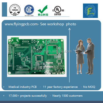RoHS rigid pcb boards for medical equipment