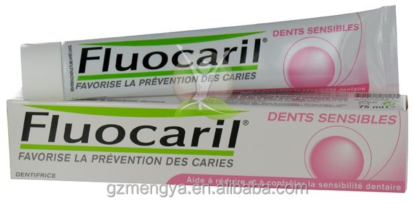 Fluocaril toothpaste good quality natural toothpaste