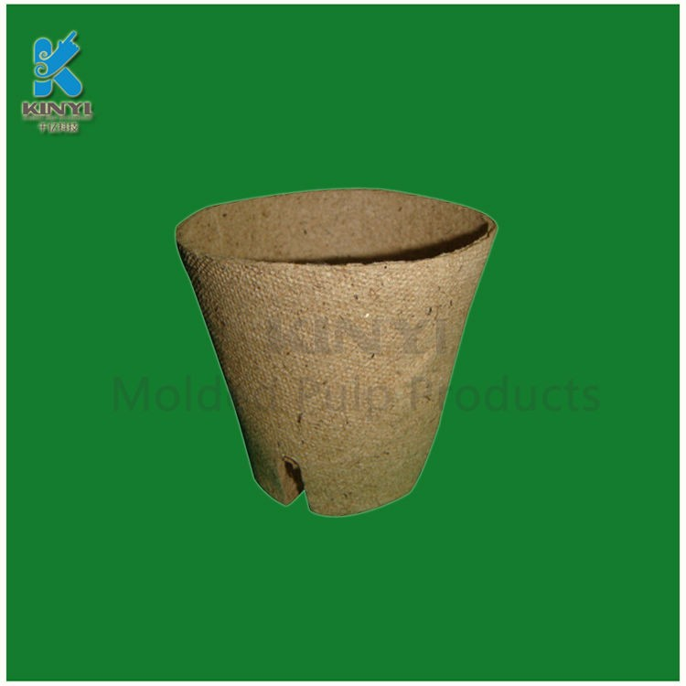 New sugarcane molded paper pulp packaging biodegradable coconut fiber pots