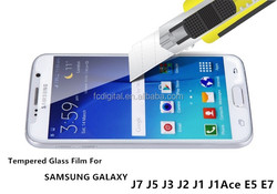 New Explosion Proof Premium Real 9H 2.5D Tempered Glass Film Screen Protector Guard For Samsung Galaxy J7 J5 J3 J2 J1 J1