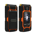Rover X9 1800mAh Big Battery Flip Style Rugged Dual Screen Mobile Phone