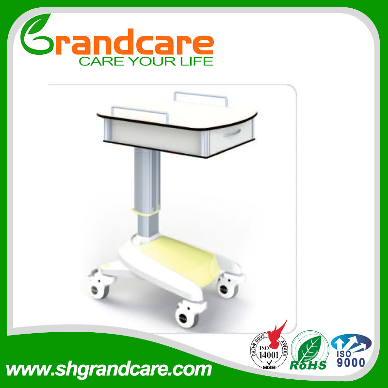 2017 Hot Sell Medical trolley High Quality Hospital Stainless Steel Baby Trolley Rustproof TD003