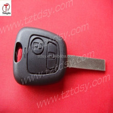 TD 307 remote key shell(with groove) for Peugeot
