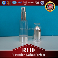 Professional factory SGS certified airless cosmetic pump bottle