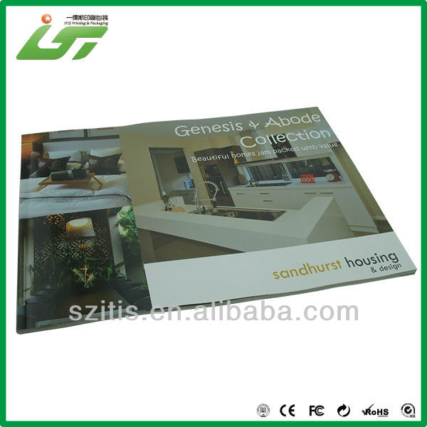 hight end digital signage magazin print service factory
