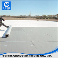 PVC membrane waterproofing materials for roof waterproofing