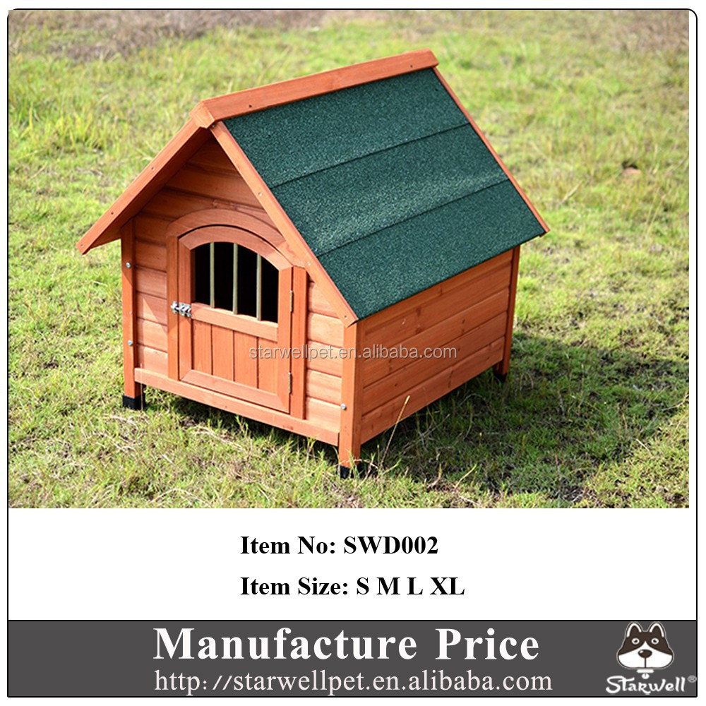 2015 hot sale manufacture price wooden iron fence dog kennel