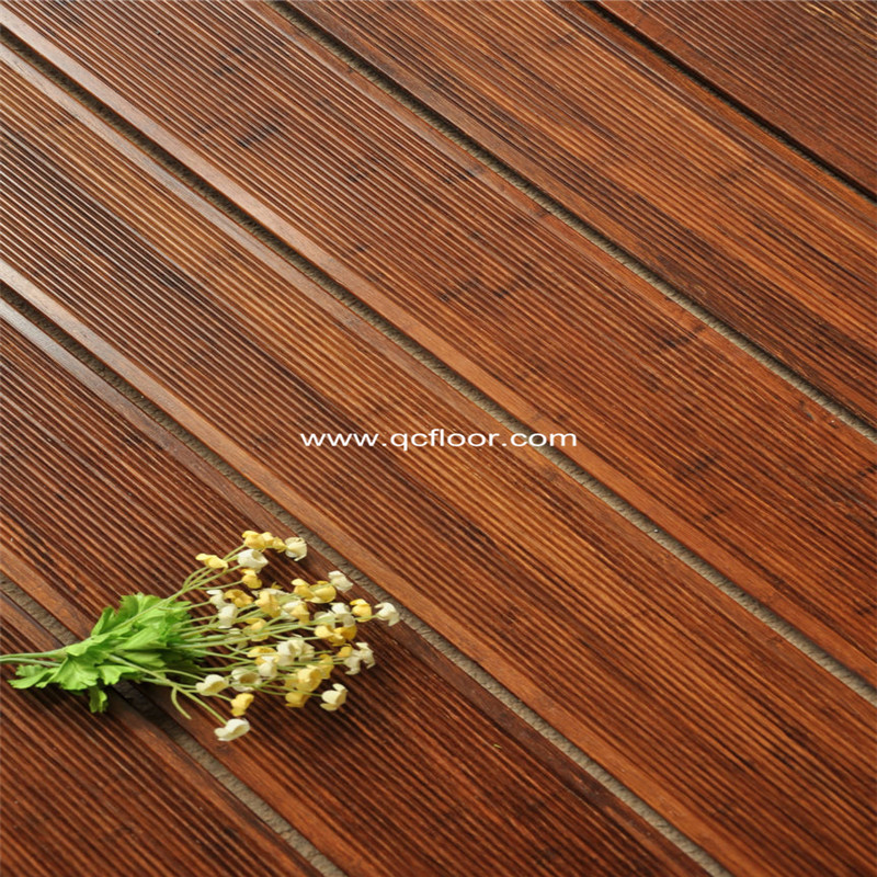 Oil strand woven bamboo flooring parquet outdoor decking for Bamboo flooring outdoor decking