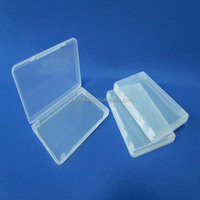 plastic storage boxes hinge lids with high quality for sale
