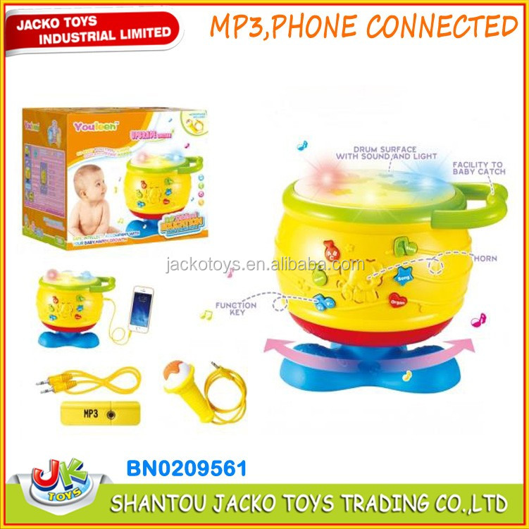 Enlightenment toy phone funny baby education toy with light and sound