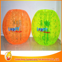 kids body zorb human sized soccer bubble ball bump inflatable ball