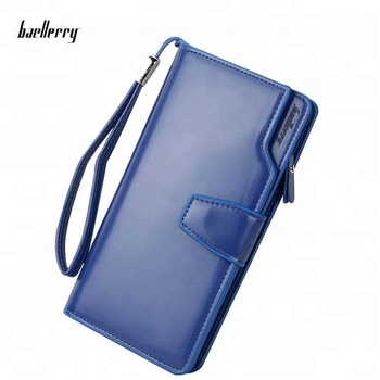 High Quality Baellerry Fashion Multi-function Pu Wallet For Women Wallet