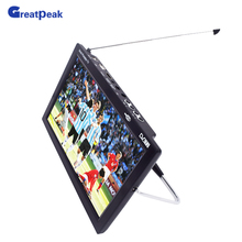"9"" WideScreen Digital Portable TV Integrated Freeview & Recording PVR USB"
