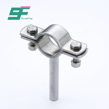 Cheap sell reasonable structure hygienic clamp stainless steel pipe holder