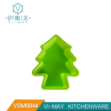 VSM0044 Best Silicone Baking Pan Christmas Tree Shape Cake Bread Mold 3d christmas tree cake mold baking forms christmas
