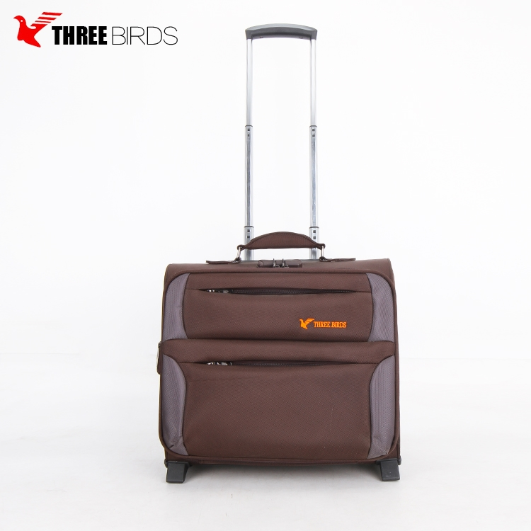 Alibaba china online shopping leisure style soft small trolley bag price