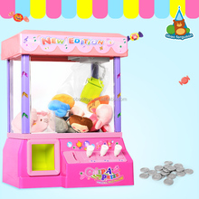 B/O candy grabber toy with music Mini amusement machine Toy with light Table games