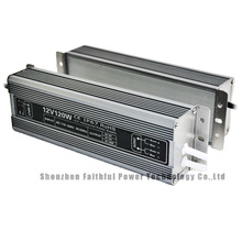 120Watt 12V 24V IP67 LED Strip SMPS Switching Power Supply 10A 5A for LED Bars Downlights