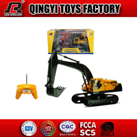 HOT!! RC toys R/C cars 1:28 8 channels rc excavator