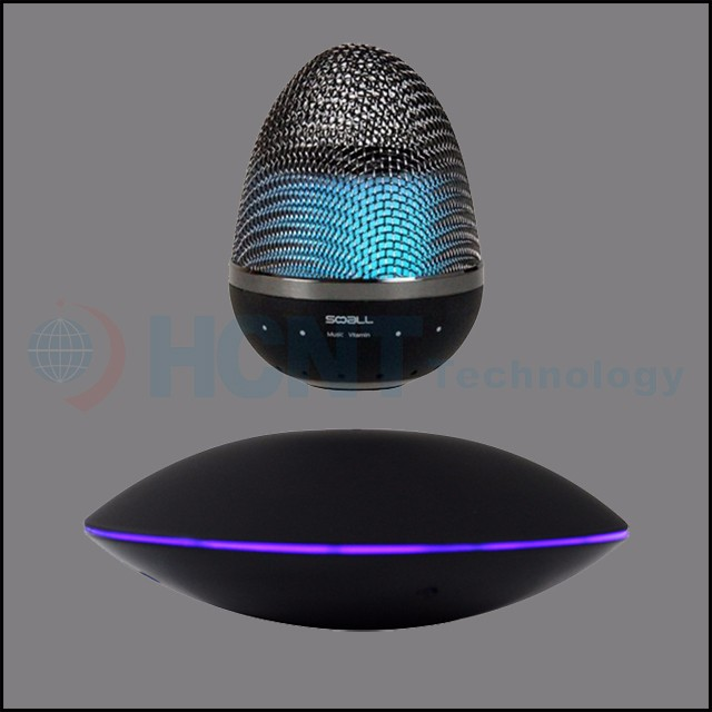 2017 Outdoor Led Portable Bluetooth Speaker levitating