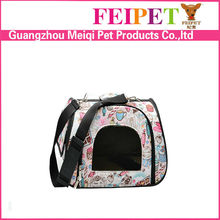 adorable small dog carrier collapsible pet travel cage