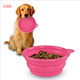 Food Grade Wholesale Collapsible Silicone Pet Dog Bowl,non slip dog bowl