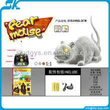 4ch remote control plush mouse with light and music rc mouse toys with factory audit FCCA, WCA, ICTI, BSCI