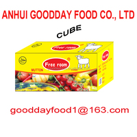 health food condiment 10g/cube mutton goat stock cube
