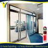 YY windows and doors AS2047 aluminum trailer used double doors exterior large sliding glass doors