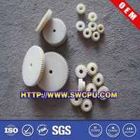 High precision small nylon plastic gears for toys