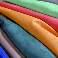 4 way stretch suede fabric for garments,synthetic 4 way stretch suede fabric