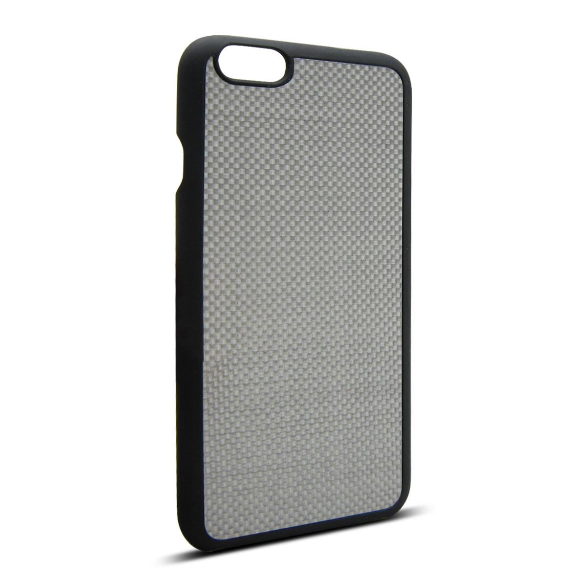 Silver Carbon Fiber PC Phone Case for iPhone 6 4.7inch