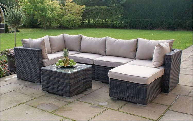 Poly Rattan Outdoor Patio Sofa Furniture Used In Rattan