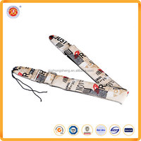 Hot sale Adjuatable PU Leather Guitar Straps Colored Printed for sale