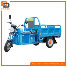 high power electric tricycle for cargo loading battery operated tricycle with 3 wheels