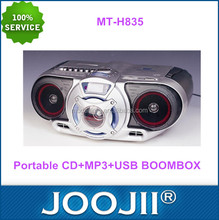 Fashion Portable Boombox With USB SD MP3 CD/DVD Player For Home FM/AM Radio