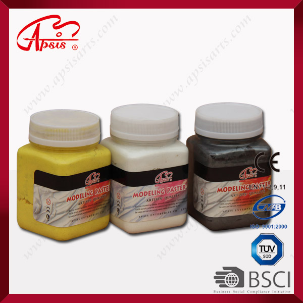 color acrylic strecture paste in color bottle