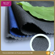 300D 4 way new fashion woven twill polyester spandex stretch fabric for lady's garment