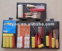 Yiwu futian market paint roller brush set with tray