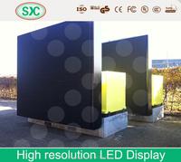 rental led curtain display