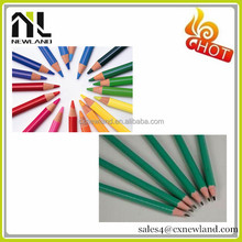 Hot selling Chinese natural wooden Cheap crayons colour pencil